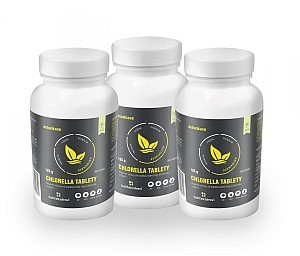 3x BIO CHLORELLA 500 TABLET
