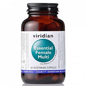 VIRIDIAN ESSENTIAL FEMALE MULTI 60 KAPSLÍ (natural komplex pro ženy)